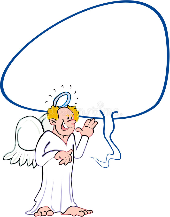 anioł 2 ilustracja wektor