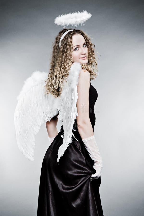 anioł dosyć zdjęcia stock