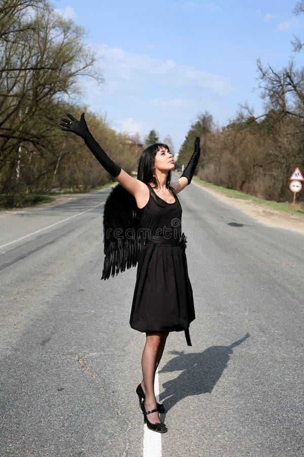 anioł droga fotografia royalty free