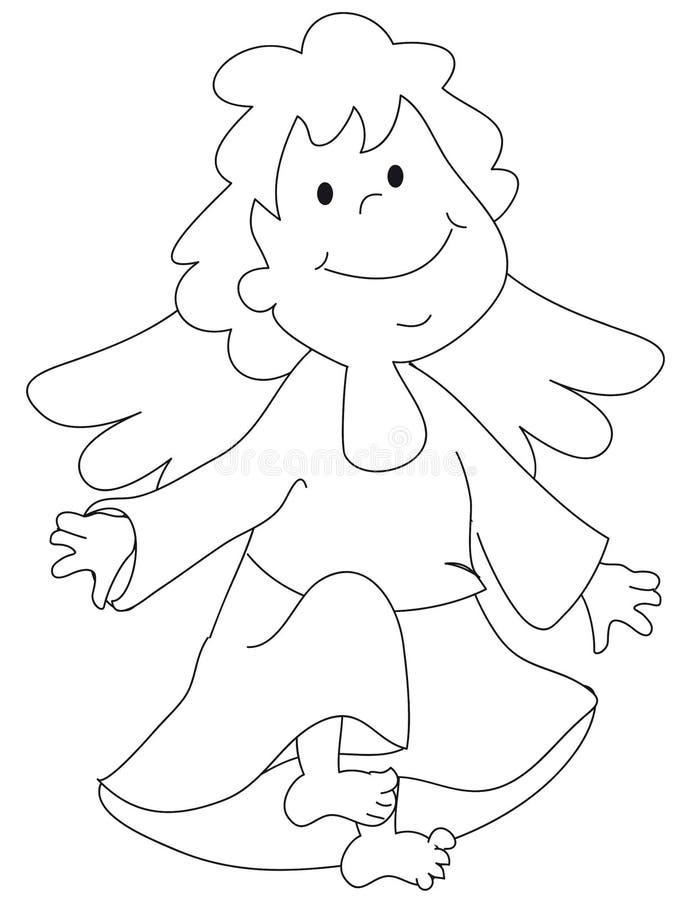 anioł ilustracja ilustracja wektor