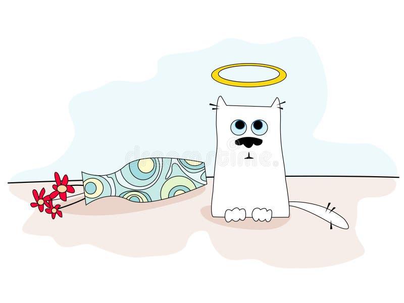 anioł kittie ilustracji