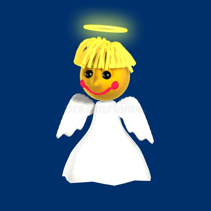 anioł latać zdjęcia stock