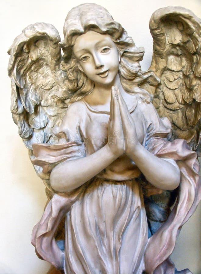 anioł modlitwa fotografia royalty free
