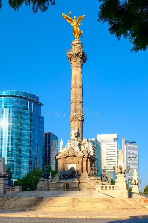 Anioł niezależność, symbol Meksyk fotografia stock
