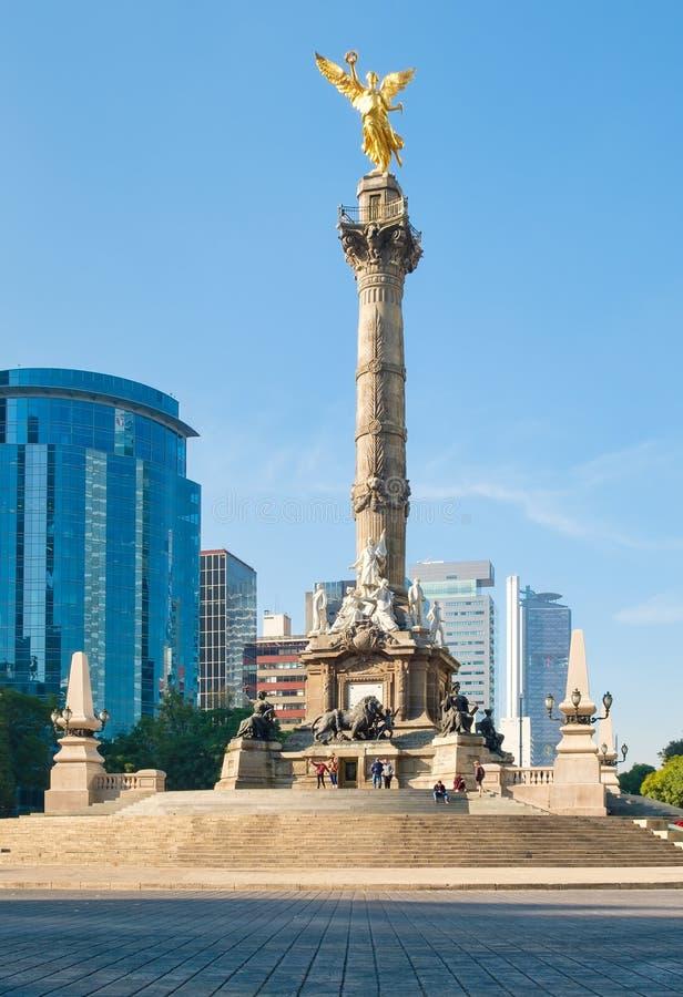 Anioł niezależność w Meksyk fotografia stock