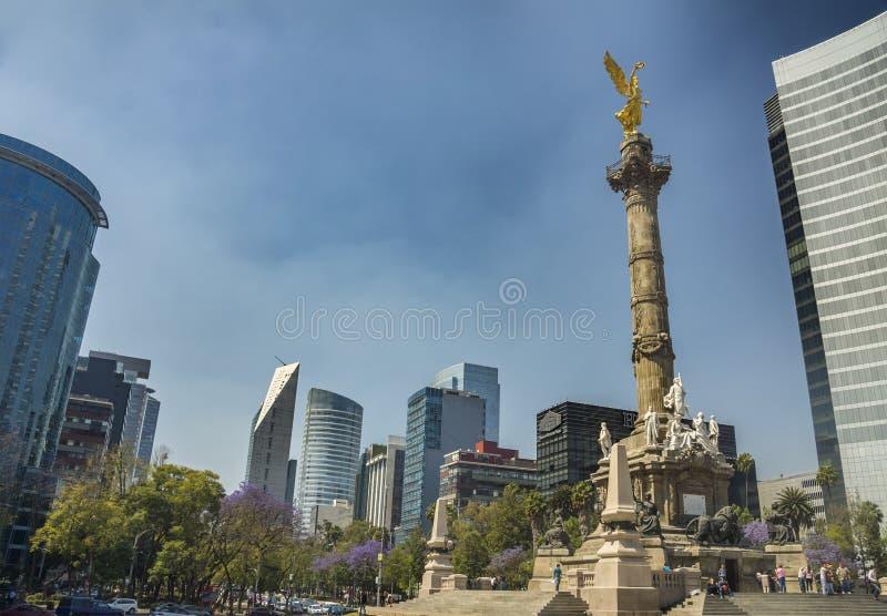 Anioł niezależność w Meksyk obrazy stock