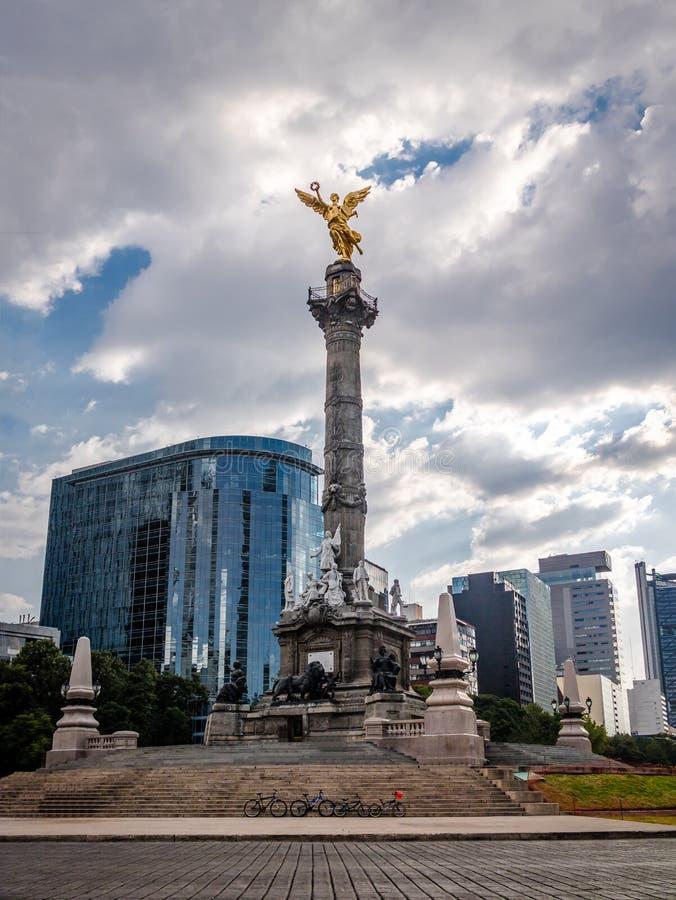 Anioł niezależność zabytek - Meksyk, Meksyk zdjęcia stock