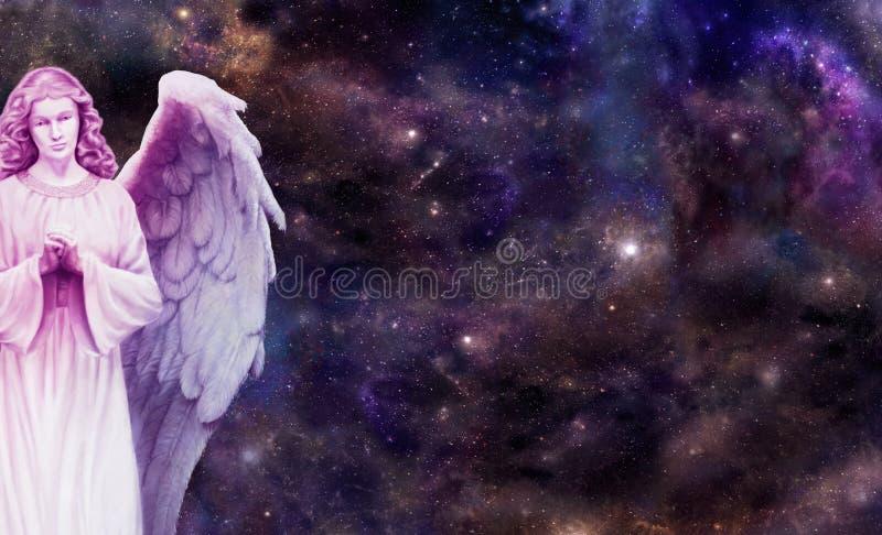 Anioł Ogląda Nad Tobą zdjęcie stock
