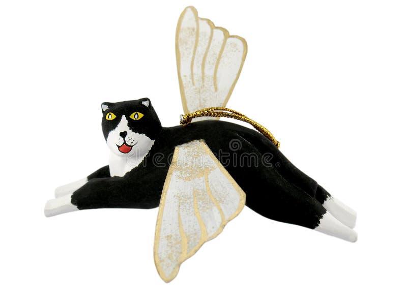 anioł ornament kota obraz stock