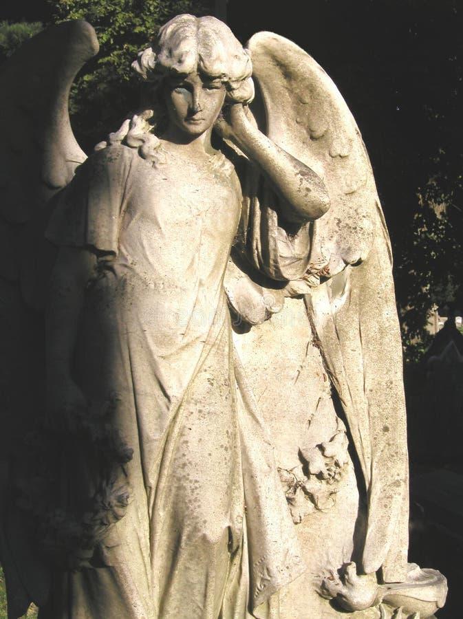 anioł posąg zdjęcia royalty free