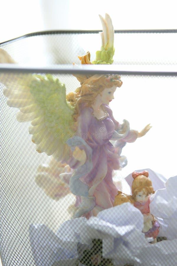 anioł postać biurowy świątobliwy grat obraz royalty free