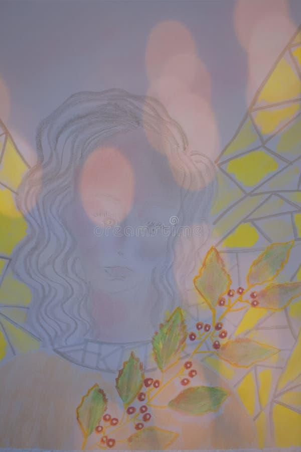 Anioł Rafael royalty ilustracja