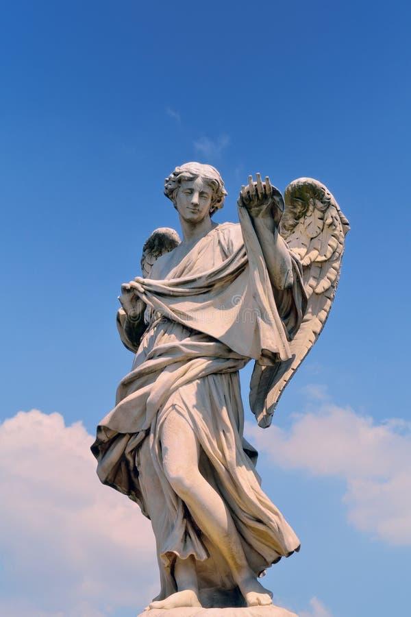 anioł rzeźba zdjęcie stock