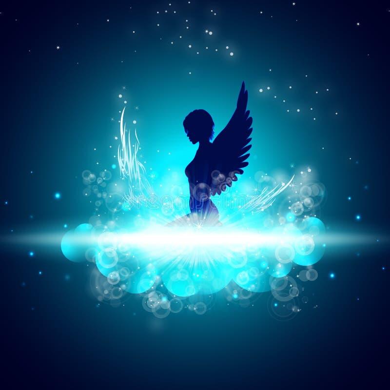 anioł sexy ilustracja wektor