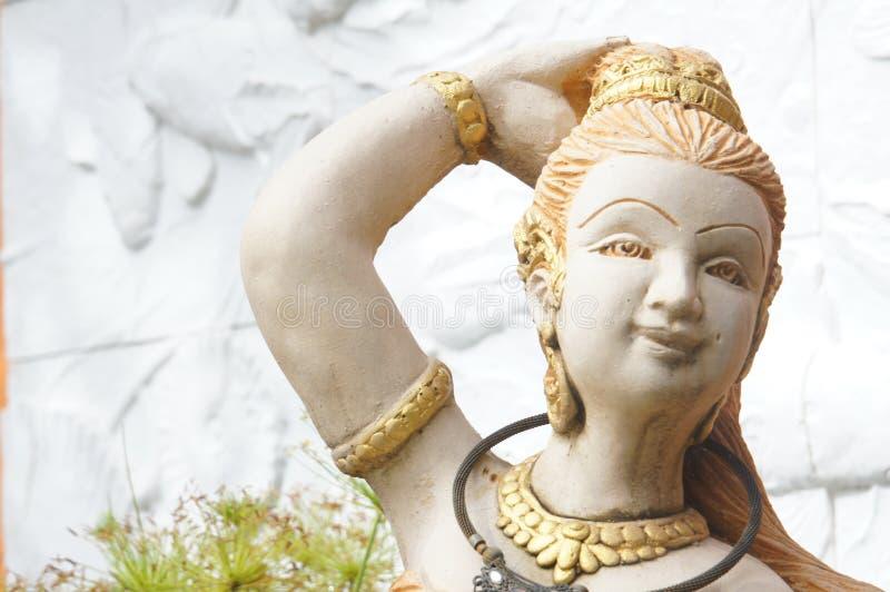 Anioł Statua obraz royalty free