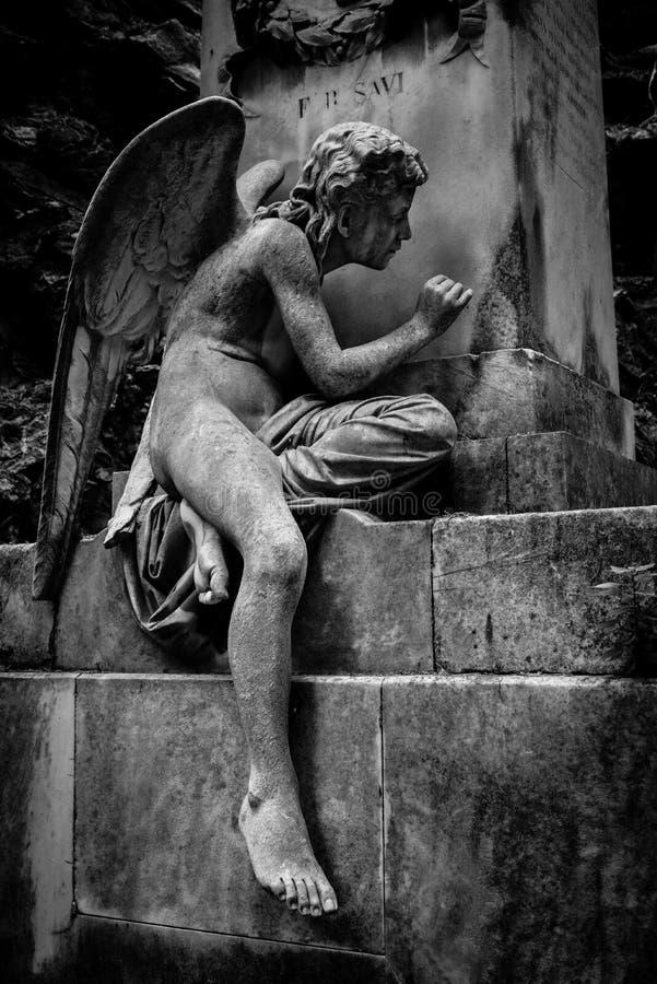 Anioł statua zdjęcie stock