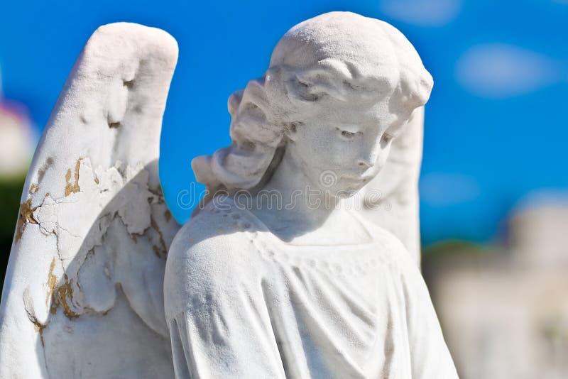 anioł statua piękna żeńska fotografia stock