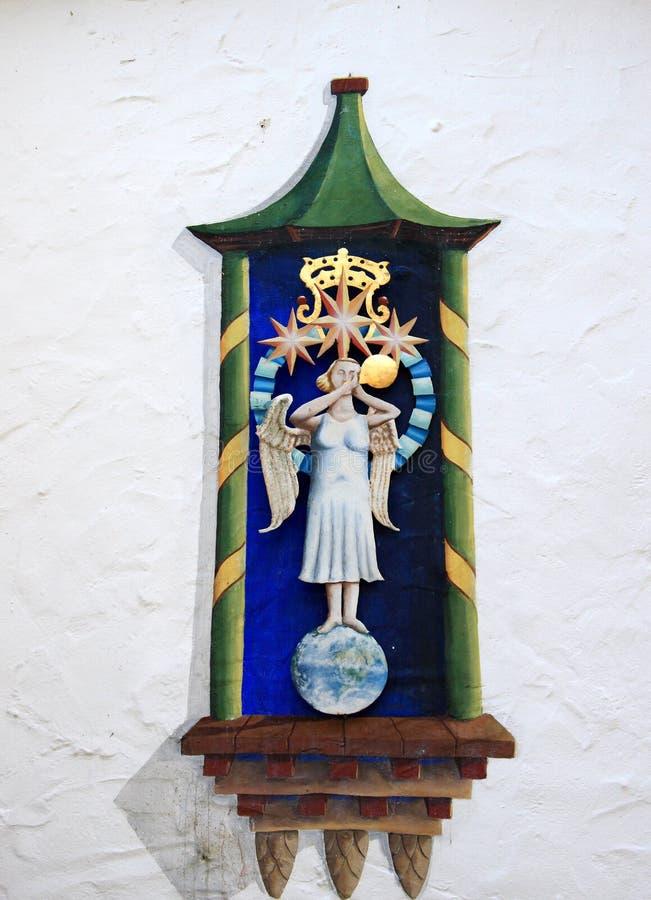 anioł trąbka obraz royalty free