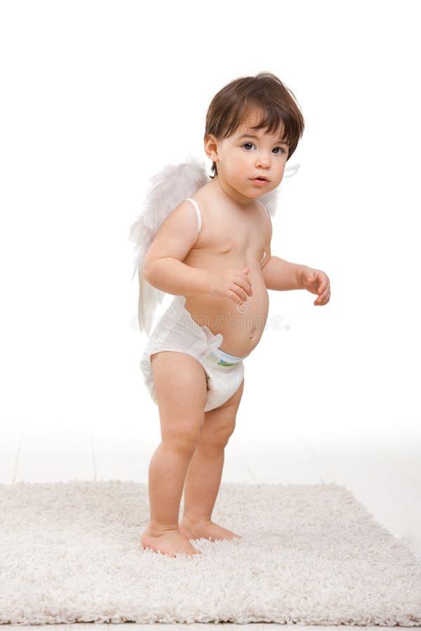 anioł trochę zaskakujący obrazy stock