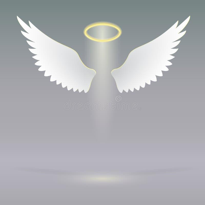 Anioł uskrzydla na nadziemskim zdjęcia royalty free