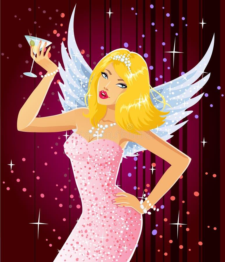 anioł wspaniały ilustracji