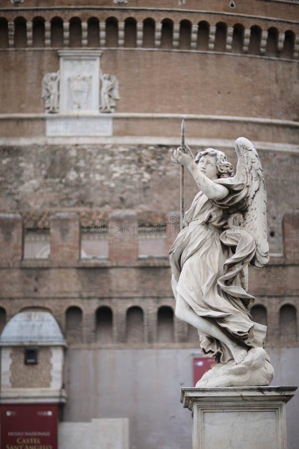 Anioł z dzidą zdjęcia royalty free