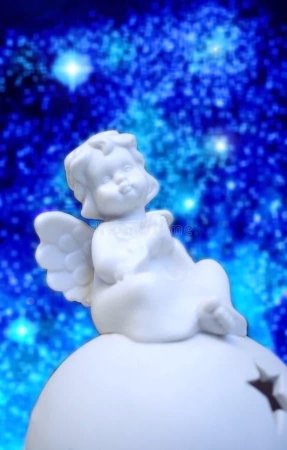 anioła bożych narodzeń mały cukierki fotografia royalty free