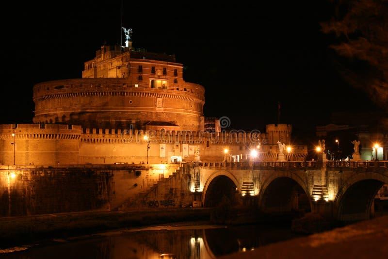anioła castel Rome st zdjęcia royalty free
