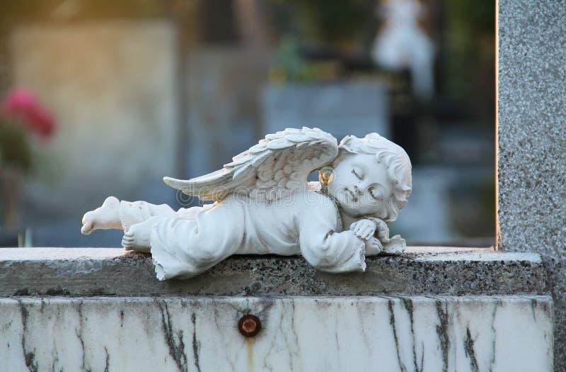 anioła dosypianie zdjęcia stock