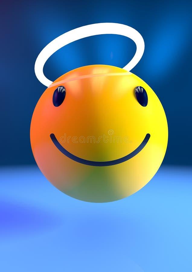 Anioła emoji ilustracji
