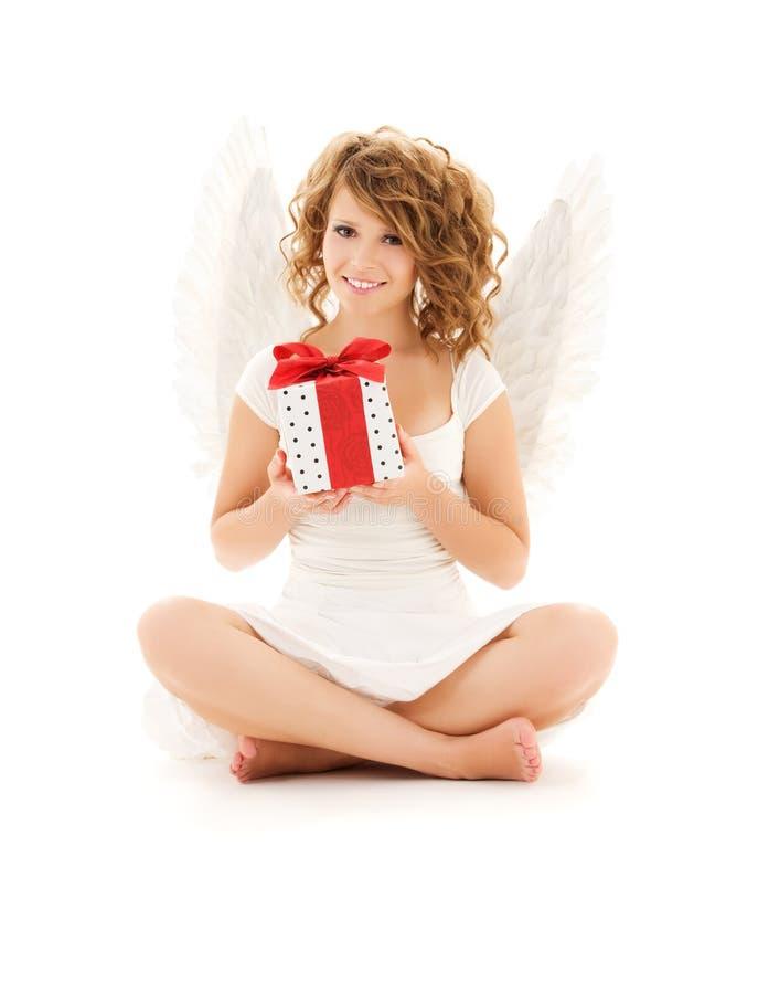anioła prezent zdjęcia royalty free