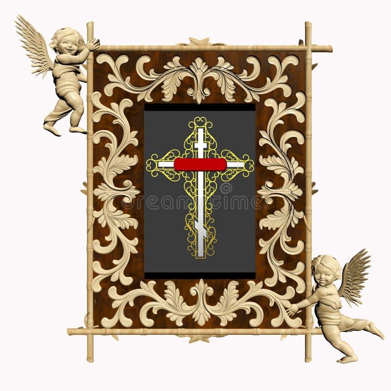 Anioła skarb royalty ilustracja