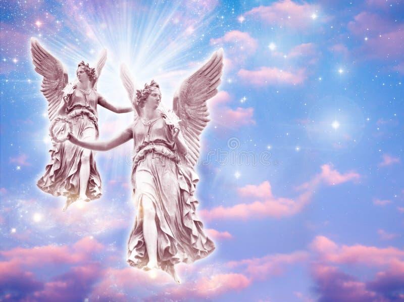 aniołowie zdjęcie royalty free