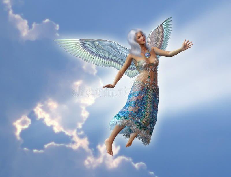 Download Anioł ilustracji. Ilustracja złożonej z duchowość, piękno - 137506