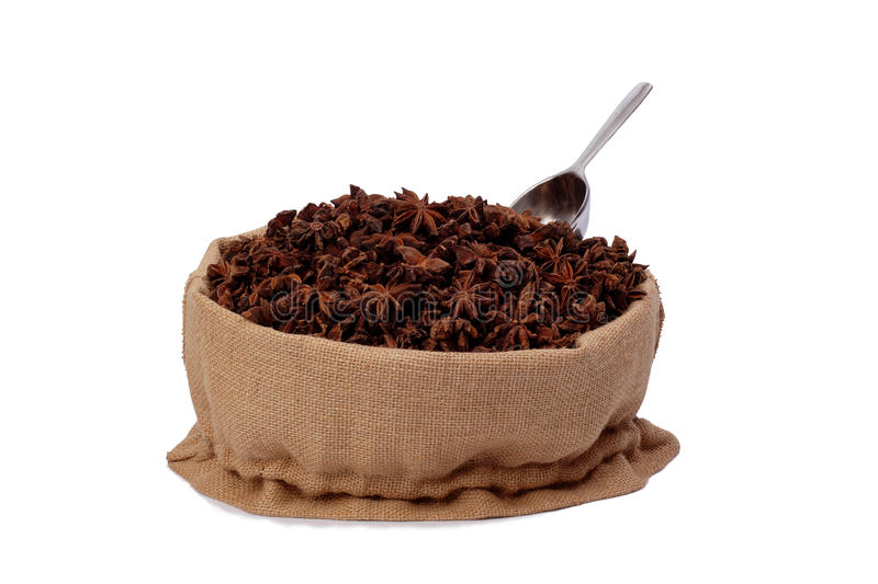 Download Anise in bag stock image. Image of open, flavor, portion - 26854259