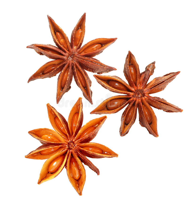 Free Anise Stars Royalty Free Stock Photography - 7221727