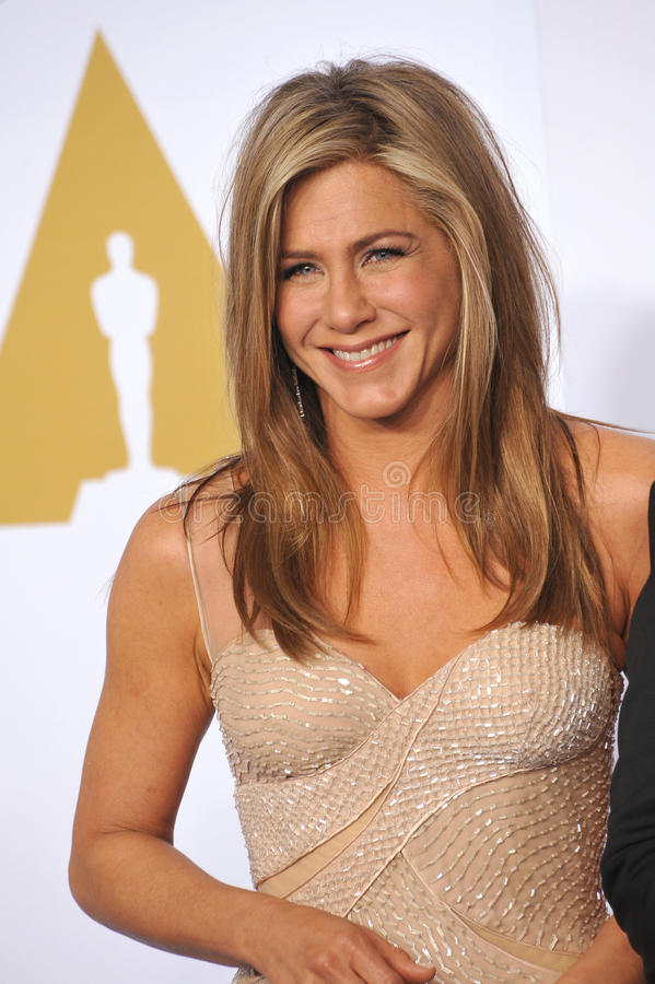 aniston Jennifer obrazy stock