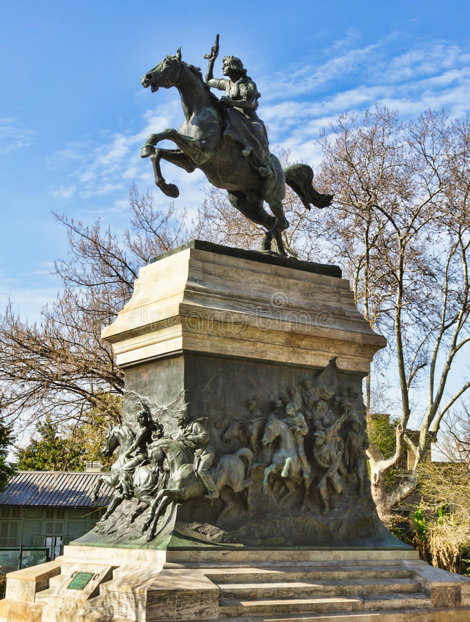 Download Anita Garibaldi Monument - Rome, Stock Photo - Image: 24243122