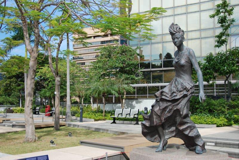 Anita Mui statua zdjęcie royalty free