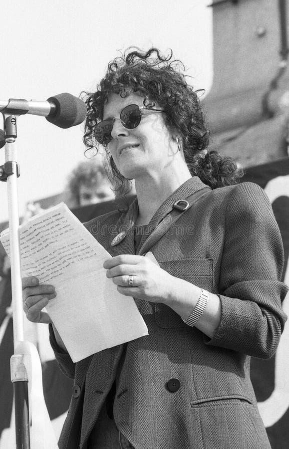 Anita Roddick fotografia stock libera da diritti