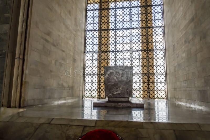 Anitkabir, el mausoleo del fundador Mustafa Kemal Ataturk de Turquía foto de archivo