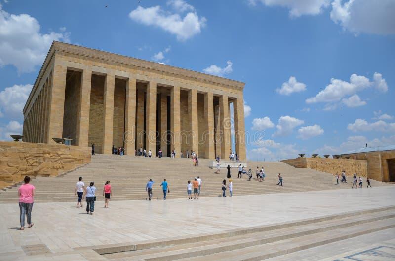 Anitkabir - mauzoleum Ataturk, Ankara Turcja obrazy royalty free