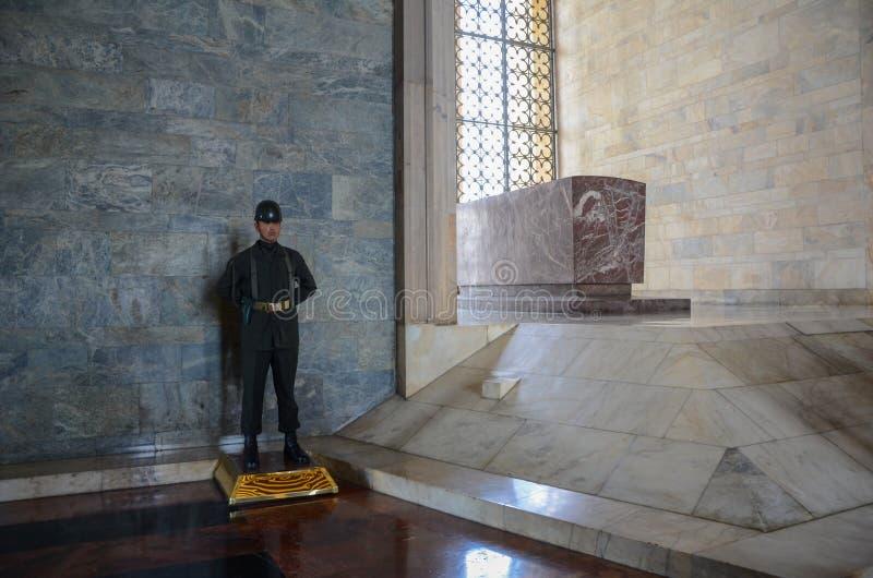 Anitkabir, mauzoleum Mustafa Kemal Atatà ¼ rk zdjęcie royalty free