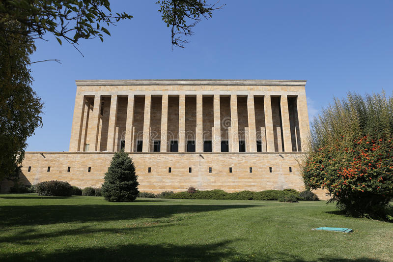 Anitkabir mauzoleum Mustafa Kemal Ataturk w Ankara zdjęcia royalty free