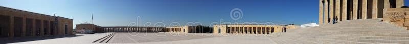 Anitkabir panoramiczny widok obrazy royalty free