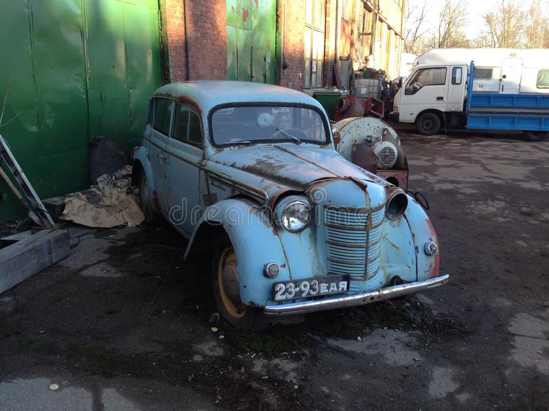 Anitque samochód obraz royalty free