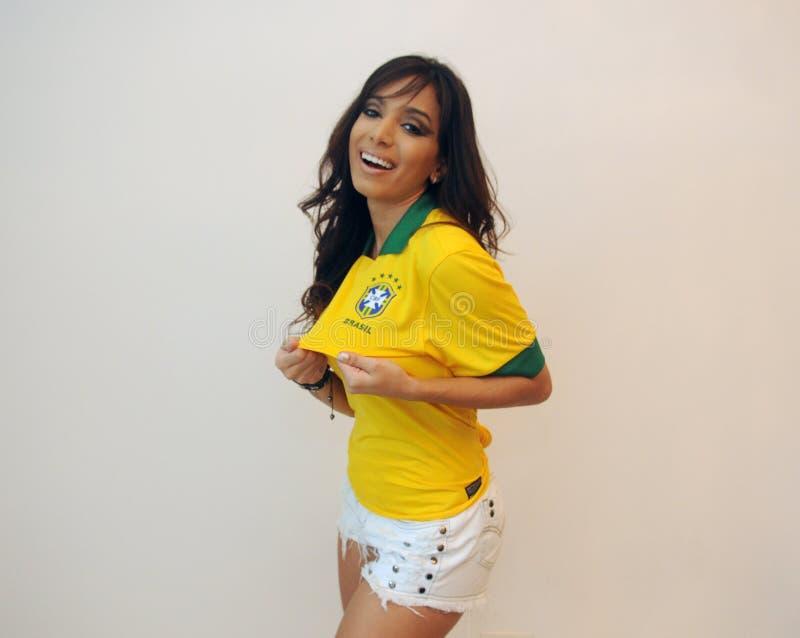 Anitta brasilian歌手 免版税库存图片