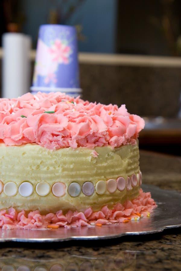 Aniversário cor-de-rosa fotos de stock royalty free