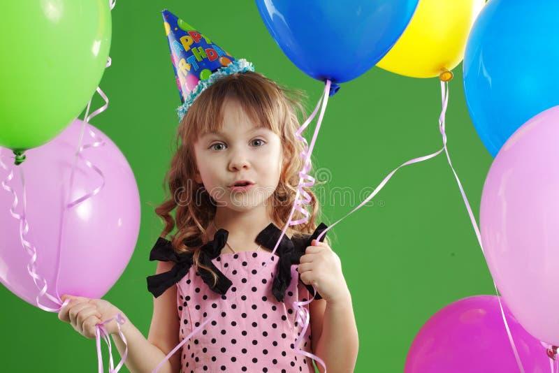 Aniversário das crianças fotografia de stock