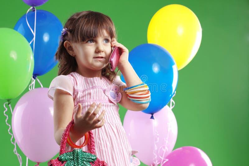 Aniversário das crianças fotos de stock